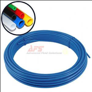 3/8 Inch O.D x 0.250 I.D Imperial Nylon Tube BLUE  Flexible Tubing